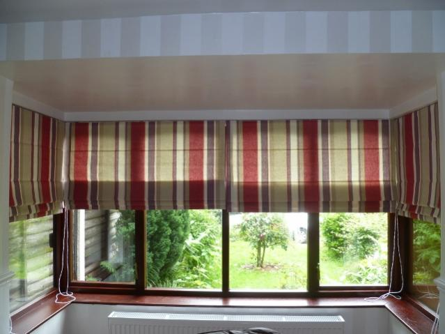 Roman Blinds In Bay Window Any Photos Would Be Helpful
