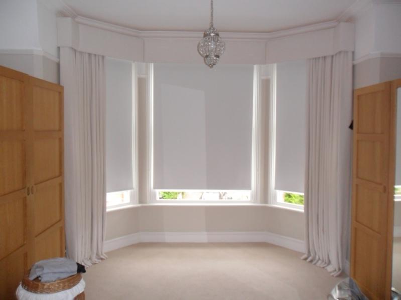 Bay window pelmet - internal corners